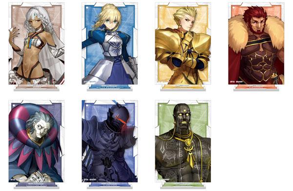 Fate/EXTELLA LINK スタンド付アクリルキーホルダーコレクション/Vol.3 7個入りBOX[ムービック]【送料無料】《発売済・在庫品》