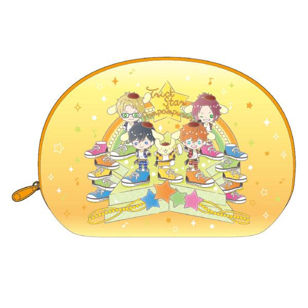 あんさんぶるスターズ!×サンリオキャラクターズ Trickstar×ポムポムプリン ポーチ[KThingS]《発売済・在庫品》