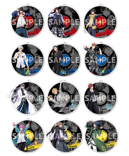 ヒプノシスマイク -Division Rap Battle- トレーディング ミラーキーホルダー 12個入りBOX[Y Line]《発売済・在庫品》