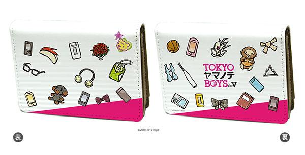 キャラケース「TOKYOヤマノテBOYS for V」01/モチーフちりばめ(グラフアートデザイン)[A3]《在庫切れ》
