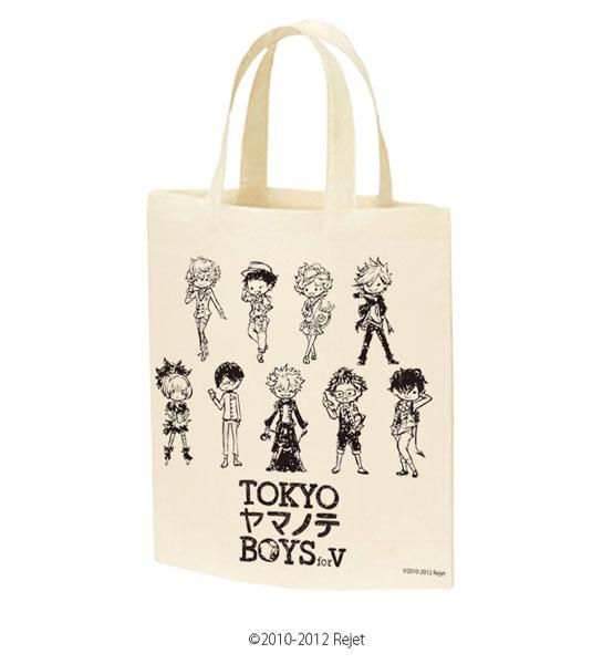 キャラトートバッグ「TOKYOヤマノテBOYS for V」01/集合(グラフアートデザイン)[A3]《在庫切れ》