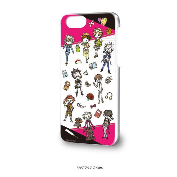 ハードケース(iPhone6/6s/7/8兼用)「TOKYOヤマノテBOYS for V」01/ちりばめ(グラフアートデザイン)[A3]《在庫切れ》