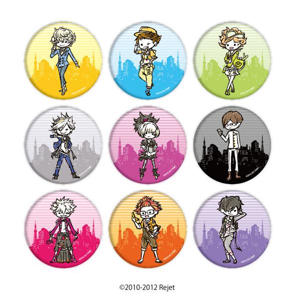 缶バッジ「TOKYOヤマノテBOYS for V」01/グラフアートデザイン 9個入りBOX[A3]《在庫切れ》