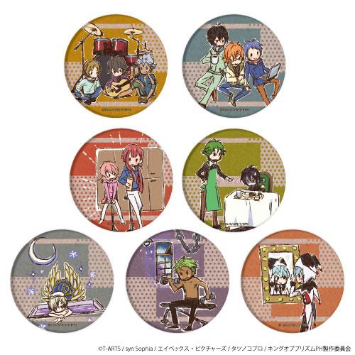 缶バッジ「KING OF PRISM -PRIDE the HERO-」04/場面写グラフアート 7個入りBOX[A3]《発売済・在庫品》