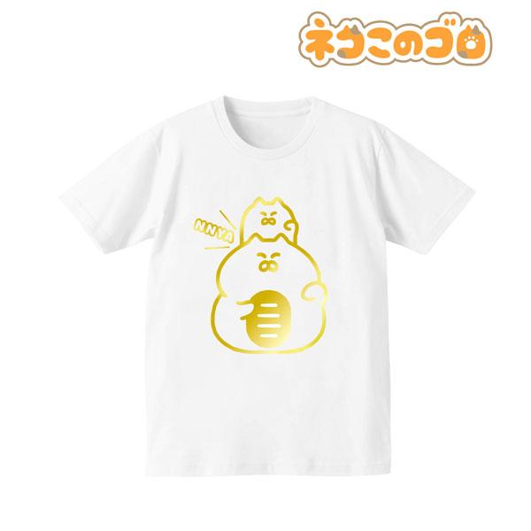 ネコこのゴロ 箔プリントTシャツ(ンニャ)/メンズ(サイズ/S)[アルマビアンカ]《09月予約》