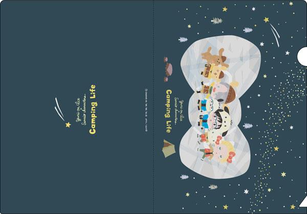 ユーリ!!! on ICE × サンリオキャラクターズ クリアファイル 星空キャンプver.[コンテンツシード]《在庫切れ》