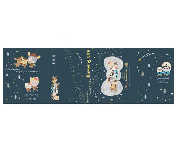 ユーリ!!! on ICE × サンリオキャラクターズ パタパタメモ 星空キャンプver.[コンテンツシード]《在庫切れ》