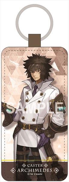 Fate/EXTELLA LINK レザーキーホルダー アルキメデス[ゼクストワークス]《在庫切れ》