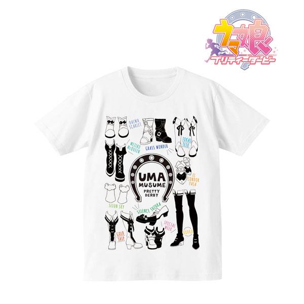 TVアニメ「ウマ娘 プリティーダービー」ラインアートTシャツ/レディース(サイズ/XL)[アルマビアンカ]《在庫切れ》