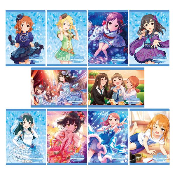 アイドルマスター シンデレラガールズ クリアファイルコレクション/COOL、vol.4 10個入りBOX[ムービック]《在庫切れ》