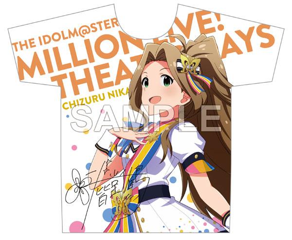 アイドルマスター ミリオンライブ! フルカラーTシャツ 二階堂千鶴 ヌーベル・トリコロール ver.[Gift]【送料無料】《在庫切れ》