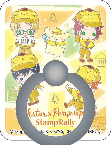 あんさんぶるスターズ!×サンリオキャラクターズ スマホリング Trickstar×POMPOMPURIN[コンテンツシード]《在庫切れ》