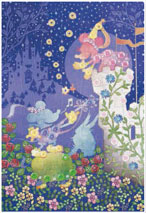 パズルデコレーションmini ディズニー Silhouette(ミッキー&ミニー) 70ピース (70-014)[エポック]《在庫切れ》