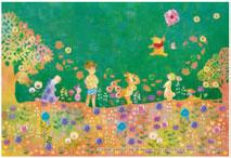 パズルデコレーションmini ディズニー Silhouette(くまのプーさん) 70ピース (70-015)[エポック]《在庫切れ》