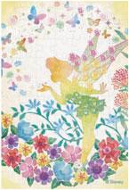 パズルデコレーションmini ディズニー Silhouette(ティンカー・ベル) 70ピース (70-017)[エポック]《在庫切れ》