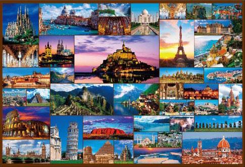 ジグソーパズル 世界遺産コレクション 40 1000マイクロピース(M81-563)[ビバリー]《在庫切れ》