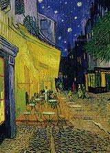 ジグソーパズル 世界の絵画(世界最小) 夜のカフェテラス 1053SSピース (31-012)[エポック]《08月予約》