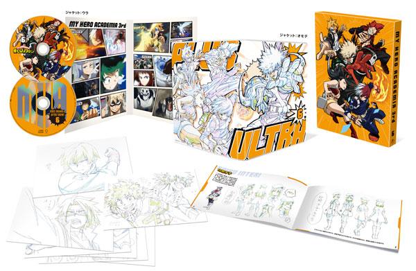 BD 僕のヒーローアカデミア 3rd Vol.6 Blu-ray 初回生産限定版[東宝]《在庫切れ》