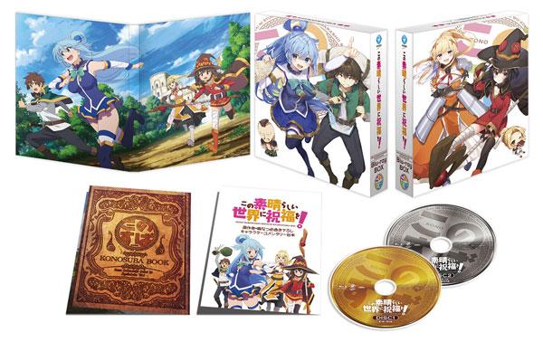 BD この素晴らしい世界に祝福を! Blu-ray BOX[KADOKAWA]【送料無料】《取り寄せ※暫定》