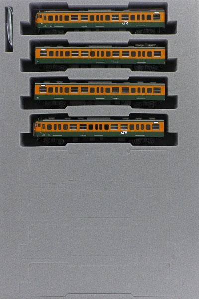 10-1482 115系1000番台 湘南色(JR仕様) 4両増結セット[KATO]《発売済・在庫品》