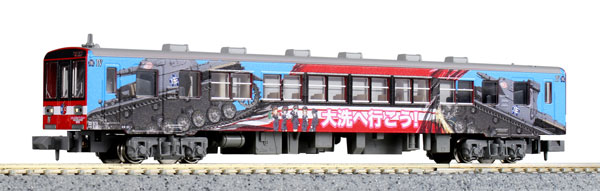 16001-5 鹿島臨海鉄道6006 ガールズ&パンツァー仕様ラッピング列車 IV号車 [特別企画品][KATO]《発売済・在庫品》