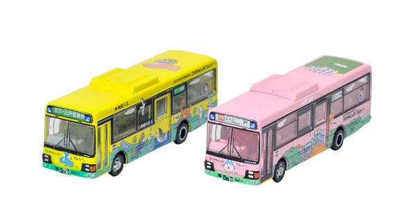 ザ・バスコレクション 南部バス11ぴきのねこラッピングバス2台セット[トミーテック]《在庫切れ》