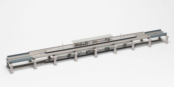 91043 高架複線階層駅セット(レールパターンHB-B)[TOMIX]《09月予約》