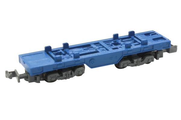 SA006-1 Zショーティー コンテナ貨車 (ブルー)[ロクハン]《在庫切れ》