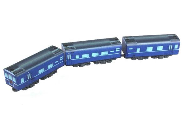 SA007-1 Zショーティー 客車(ブルー) ラベルタイプ[ロクハン]《08月予約》