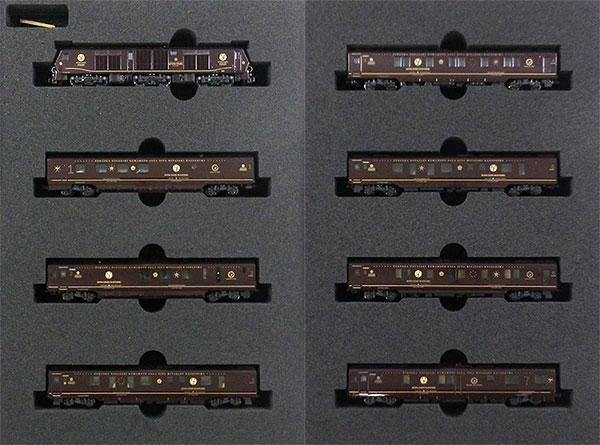 10-1519 クルーズトレイン「ななつ星in九州」 8両セット [特別企画品](再販)[KATO]【送料無料】《01月予約》
