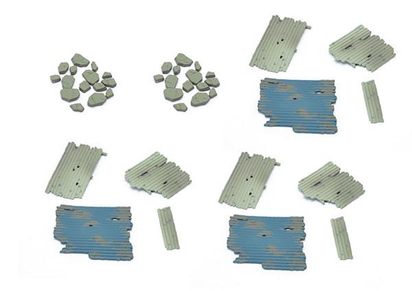 ジオラマコレクション ジオラマ素材025 瓦礫セット[トミーテック]《10月予約》