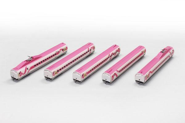 T013-7 500系 ハローキティ新幹線 5両増結セット[ロクハン]《在庫切れ》
