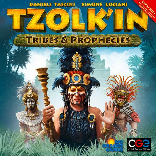 ホビージャパン特選ボードゲーム ツォルキン拡張セット 部族と預言(再販)[CZECH GAMES EDITION]《発売済・在庫品》