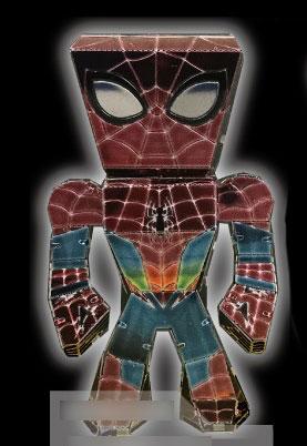 メタリックナノパズル マルチカラー R-ME-08M アベンジャーズ スパイダーマン[テンヨー]《在庫切れ》