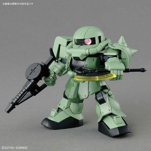 SDガンダム クロスシルエット ザクII プラモデル[BANDAI SPIRITS]《発売済・在庫品》