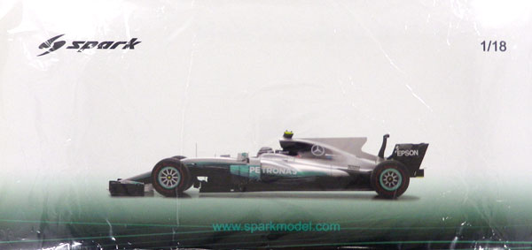 1/18 メルセデス AMG ペトロナス F1 Team No.77 Winner Russian GP 2017 Mercedes F1 W08 EQ Power+ Valtteri Bottas[スパーク]《在庫切れ》