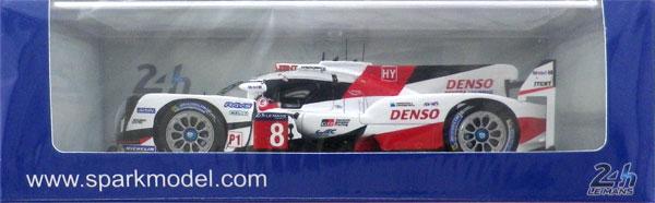 1/43 トヨタ TS050 Hybrid No.8 Le Mans 2017 TOYOTA GAZOO Racing S. Buemi - A. Davidson - K. Nakajima[スパーク]《在庫切れ》