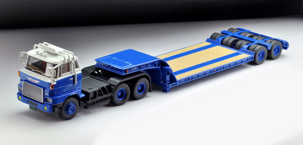 トミカリミテッドヴィンテージ ネオ LV-N173a 日野HH341 重機運搬トレーラ(東急TD302)[トミーテック]《発売済・在庫品》