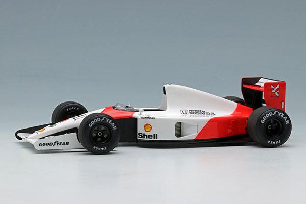 1/43 マクラーレン ホンダ MP4/6 日本GP 2nd No.1 アイルトン・セナ - ワールドチャンピオン -[メイクアップ]【送料無料】《在庫切れ》