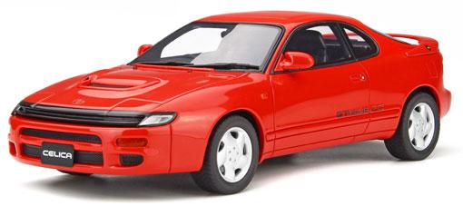 1/18 トヨタ セリカ GT-FOUR RC(ST185)(レッド)[OttO mobile]《在庫切れ》