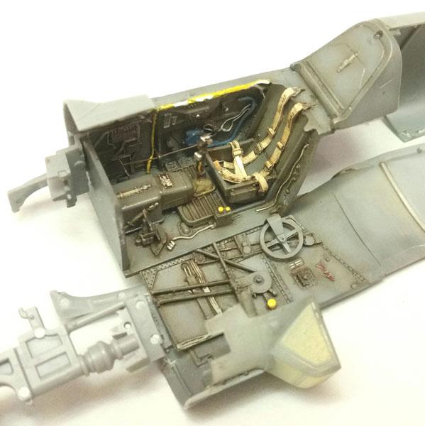 1/48 Bf109G-6/U4 コックピット (T社用)[エデュアルド]《在庫切れ》