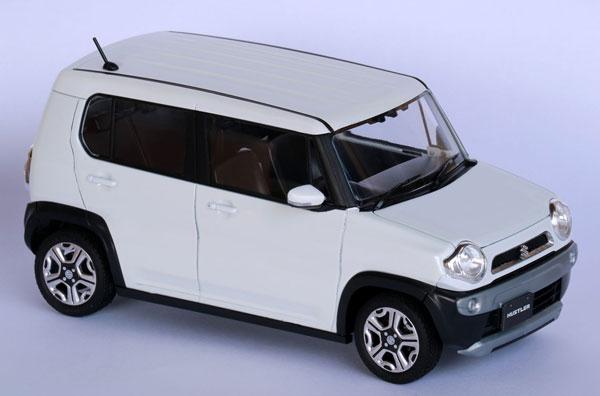 1/24 車NEXTシリーズ No.5 スズキ ハスラー(ピュアホワイトパール) プラモデル[フジミ模型]《発売済・在庫品》