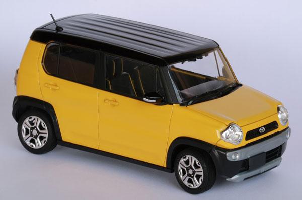 1/24 車NEXTシリーズ No.4 EX-1 マツダ フレアクロスオーバー(アクティブイエロー) プラモデル[フジミ模型]《07月予約※暫定》