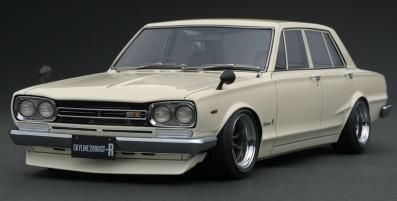 1/43 日産 スカイライン 2000 GT-R (PGC10) White[イグニッションモデル]《在庫切れ》