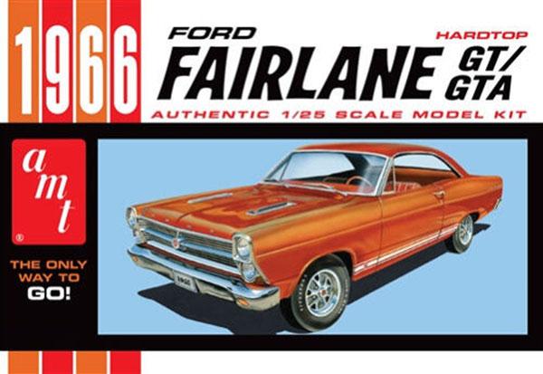 1/25 1966 フォード フェアレーン GT/GTA ハードトップ プラモデル[AMT]《在庫切れ》