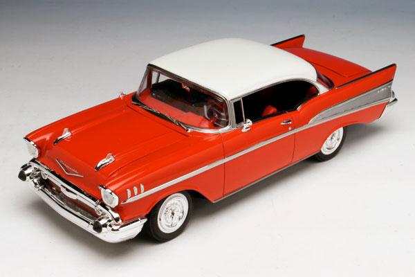 1/25 1957 シェビー・ベル・エア(レッドボディ) ブックレット付属 プラモデル[AMT]《在庫切れ》
