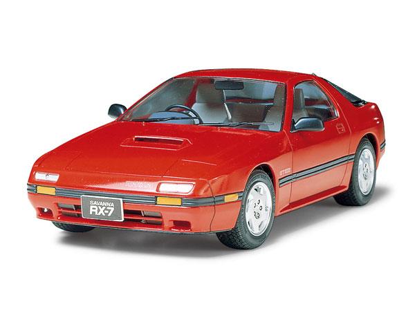 1/24 マツダ SAVANNA RX-7 GTリミテッド フルディスプレイモデル プラモデル(再販)[タミヤ]《発売済・在庫品》