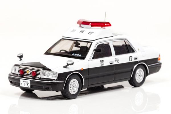 1/43 トヨタ クラウン (GS151Z) 2000 警視庁所轄署地域警ら車両 (歌舞伎号)[RAI'S]《08月予約》