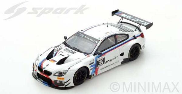 1/43 BMW M6 GT3 No.35 Walkenhorst Motorsport 24H SPA 2017 M. Palttala - C. Krognes - N.Menzel - M. Henkola[スパーク]《09月仮予約》