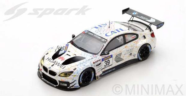 1/43 BMW M6 GT3 No.39 Schubert Motorsport 2nd VLN 2016 Round 3 L. Luhr - M. Tomczyk - J. Edwards[スパーク]《09月仮予約》